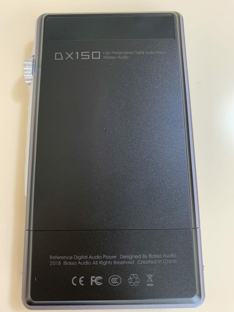 DX150裏面
