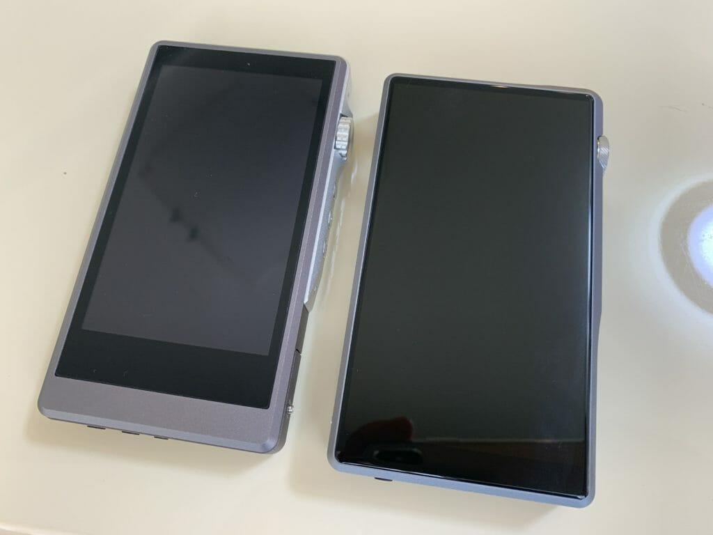 左がDX150、右がDX220