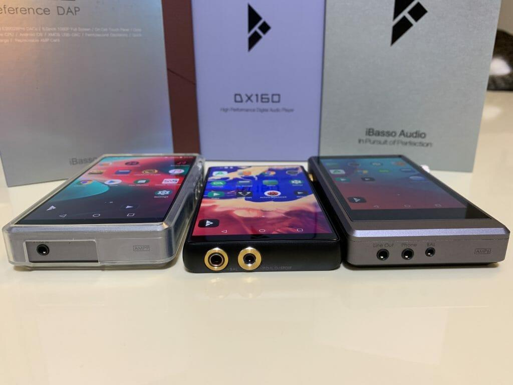 左からDX220、DX160、DX150